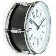 Beat It Drum Wall Clock (Black) - Red Candy