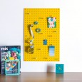 Block Medium PegBoard in Yellow - designer yellow memo board