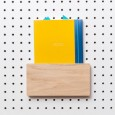 Block PegBoard Accessories (Letter Holder) - Red Candy