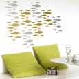 Shoal Wall Sticker - Swimming Fish Wall Decor