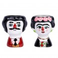 Carlos & Marisol Egg Cups (Colour) - Red Candy