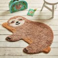 Chill Out Sloth Rug - Red Candy
