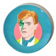 David Bowie Plate - Red Candy