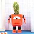 Planter Bot Robot Vase (Red) - Red Candy
