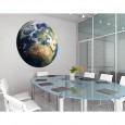Planet Earth Wall Sticker - Red Candy