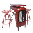 Red Tractor Table - Red Candy