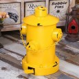 Fire Hydrant Pedal Bin (Yellow) - Red Candy