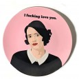 Fleabag Plate - Red Candy