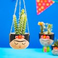Frida Hanging Planter - Red Candy