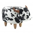 Cathy the Cow Footstool - Red Candy