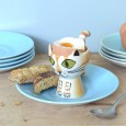 Ginger Cat Egg Cup - Red Candy