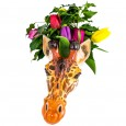 Gio the Giraffe Wall Planter - Red Candy