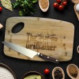 Grillfather Cutting Board - Red Candy
