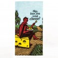 Have You Tried Cheese? Tea Towel - Red Candy