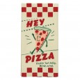 Hey Pizza Tea Towel - Red Candy