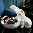 Hungry Hippo Desk Tidy (Marble) - Red Candy