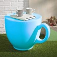 Tea Cup Stool (Light Blue) - Red Candy