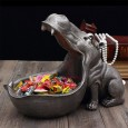Hungry Hippo Desk Tidy (Grey) - Red Candy