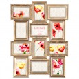 Maggiore Gold Multi Photo Frame - antique style photo display