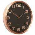 Karlsson Maxie Copper Clock (Black) - Red Candy