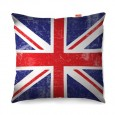 Union Jack Sofa Cushion - designer British flag pillow