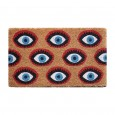 Eyes Doormat - Red Candy