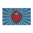 Milagro Heart Doormat - Red Candy