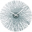 Koziol Silk Wall Clock (Anthracite) - Red Candy
