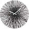 Koziol Silk Wall Clock - Black - unique black clock
