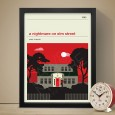 A Nightmare on Elm Street Art Print - Red Candy