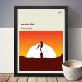 The Karate Kid Art Print - Red Candy