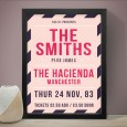The Smiths (Hacienda Manchester Gig) Art Print – Red Candy