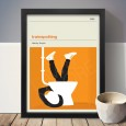 Trainspotting Art Print - Red Candy