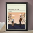 When Harry Met Sally Art Print - Red Candy