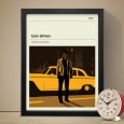 Taxi Driver Art Print - Red Candy