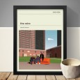 The Wire Art Print - Red Candy