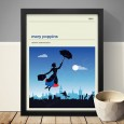 Mary Poppins Art Print - Red Candy