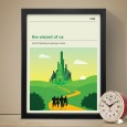 The Wizard of Oz Art Print - Red Candy