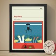 Toy Story Art Print - Red Candy