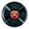 LP Record Dinner Plate - Red Candy