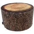 Forest Heavyweight Pouf - tree stump seat - MeroWings