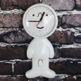 Mr P Shy Man Clock (White) - Red Candy