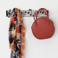 Music Note Wall Hanger - Red Candy