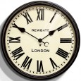 Newgate Battersby Clock (Black) - Red Candy