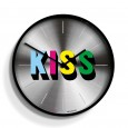 Newgate Kiss Clock (Limited Edition) - Red Candy