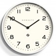Newgate Number One Echo Clock (White) - Red Candy