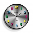 Newgate Number X Eye Candy Clock - Red Candy