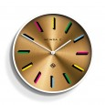 Newgate Number X Fancy Pants Clock - Red Candy