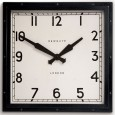 Newgate Quad Clock - Black square wall clock
