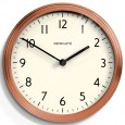 Newgate The Spy Wall Clock - Copper - designer copper clock